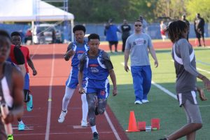 Bonham Boys 7th and 8th Grade Track at the District Meet