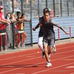 Travis Boys 8th Grade Track at the District Meet