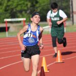 Bonham 7th grade boys track results from the District Meet