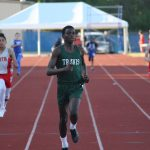 Travis 7th grade boys track results from the District Meet