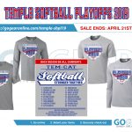 Order your Tem-Cat Softball playoff t-shirt now