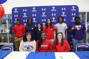 Temple High Signing Day Ceremony