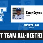 Corey Goynes named 1st Team All-District