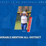 Alcozer named to 12-6A Softball Honorable Mention team
