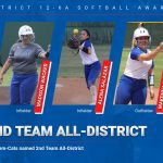 Five Tem-Cat Softball players earn 2nd Team All-District honors