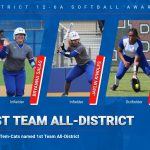 Three Tem-Cats earn 1st Team Softball All-District honors