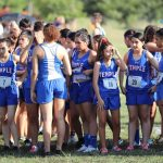 Girls JV Cross Country at the Temple Invitational