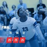 Midway defeats Temple in 12-6A volleyball opener
