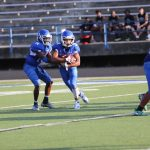 JV White Football vs. Cedar Ridge - 2nd Half