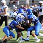 JV White football rally fall short in season opener