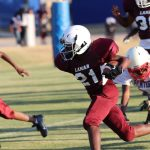 Lamar 7th Grade football results vs. Midway