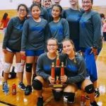 Bonham 8th Grade A volleyball takes 2nd Place at Killeen ISD Tournament
