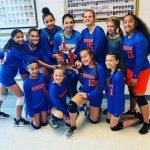 Bonham 7th Grade A volleyball takes 2nd at Killeen ISD Tournament
