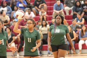 Travis 8th Grade B Volleyball vs. Lamar