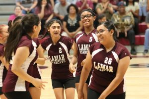 Lamar 8th Grade B Volleyball vs. Travis