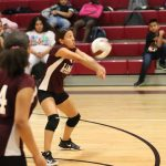 Lamar 8th grade volleyball splits with Travis