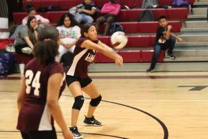 Lamar 8th Grade A Volleyball vs. Travis