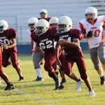 Lamar 7th grade football splits game with South Belton