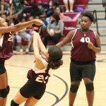 Lamar 7th grade volleyball sweeps Travis