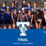 Wildcat Tennis rolls past Ellison