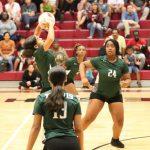 Travis 8th grade volleyball results vs. Lamar