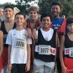 Bonham boys cross country takes 3rd Place at the Rogers Invitational
