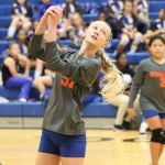 Bonham 8th grade volleyball splits with Copperas Cove