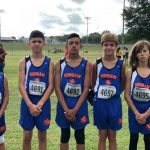 Bonham boys cross country results from the Cameron Invitational