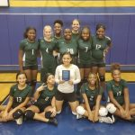 Travis 8th Grade A Volleyball wins Consolation Title at Rockdale