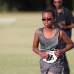 Travis 7th Grade Boys Cross Country at the District Meet