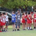 Lamar 7th Grade Boys Cross Country at the District Meet