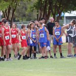 Bonham 7th Grade Boys Cross Country at the District Meet