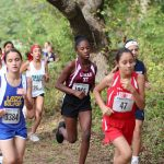 Lamar 7th Grade Girls Cross Country at the District Meet