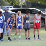 Travis 8th Grade Boys Cross Country at the District Meet