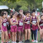 Lamar 8th Grade Girls Cross Country at the District Meet