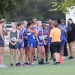 Bonham 8th Grade Girls Cross Country at the District Meet
