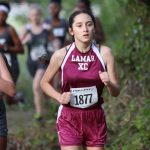 Bachicha's 4th Place finish at district shines for Lamar girls cross country