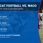 Wildcat Football game updates for week of Waco High