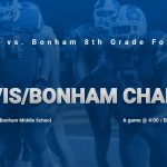 Travis/Bonham football games moved to Bonham M.S.