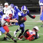 JV Blue football defeats Midway 35-21