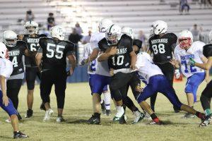 Travis 8th Grade A Football vs. Midway Blue