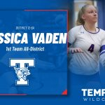 Vaden leads Tem-Cat Volleyball All-District selections