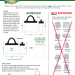 Clear bag policy for bi-district playoff game