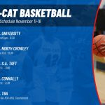 Tem-Cat Basketball schedule for week of November 11-16