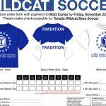 Wildcat Soccer T-Shirt Fundraiser
