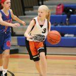 Bonham 7th grade girls basketball results vs. Midway