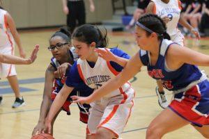 Bonham Girls 8th Grade B Basketball vs. Midway