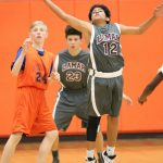 Lamar Boys 8th Grade B Basketball vs. Bonham