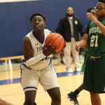 Freshman boys white basketball wins season opener