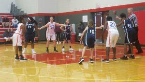 Bonham 8th Grade B Girls Basketball in the Belton Tournament